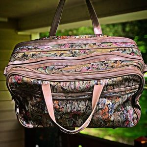 Pierre Cardin Carry On Travel Bag, Floral Print